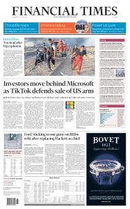 Financial Times Europe - August 5, 2020