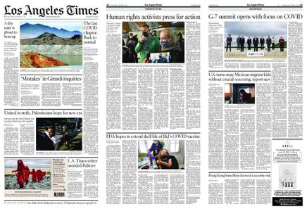 Los Angeles Times – June 12, 2021