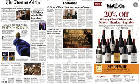 The Boston Globe – November 14, 2018