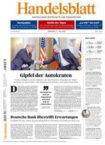 Handelsblatt - 17. Juli 2018