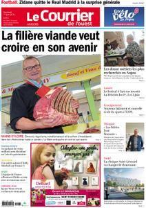 Le Courrier de l'Ouest Angers - 01 juin 2018