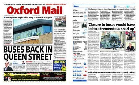Oxford Mail – October 03, 2017