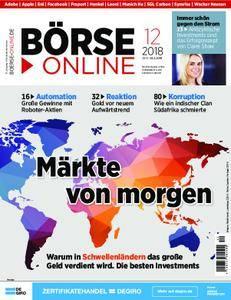 Börse Online - 22. März 2018