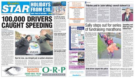 Shropshire Star Shrewsbury Edition – January 06, 2020