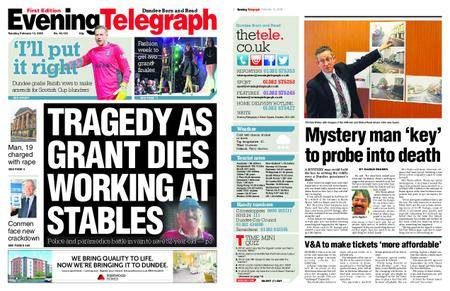 Evening Telegraph First Edition – February 13, 2018