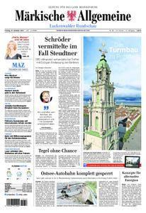 Märkische Allgemeine Luckenwalder Rundschau - 27. Oktober 2017