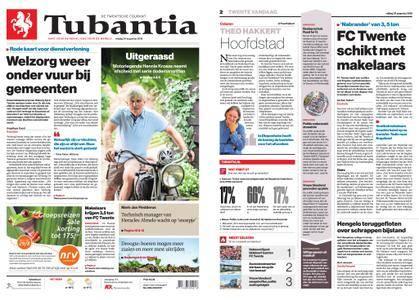 Tubantia - Enschede – 24 augustus 2018