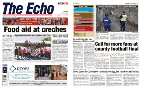 Evening Echo – August 20, 2021