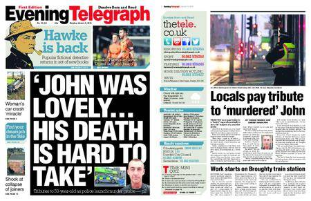 Evening Telegraph First Edition – January 08, 2018