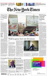 International New York Times - 14 February 2018