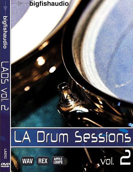 Big Fish Audio LA Drum Sessions Vol 2 MULTIFORMAT DVDR (repost)