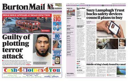 Burton Mail – January 09, 2018