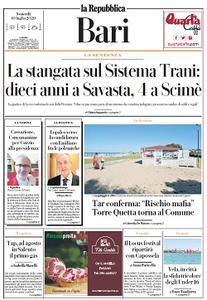 la Repubblica Bari - 10 Luglio 2020
