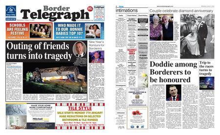 Border Telegraph – January 02, 2019