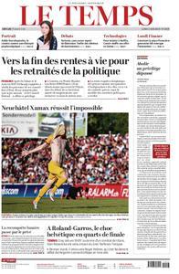 Le Temps - 03 juin 2019