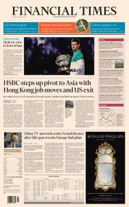 Financial Times Asia - February 22, 2021