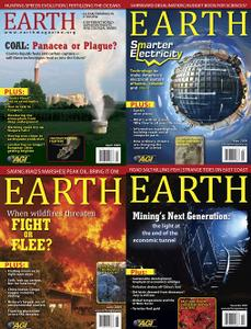 Earth Magazine 2009 Full Year Collection