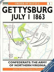 Order of Battle 1: Gettysburg 1 July 1863. Confederate: Army of Northern Virginia (Repost)