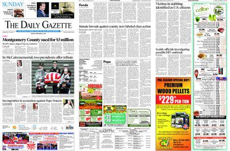 The Daily Gazette – September 02, 2018