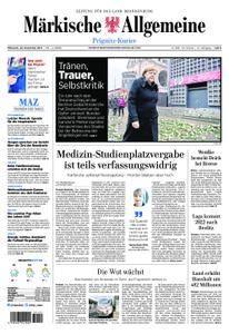 Märkische Allgemeine Prignitz Kurier - 20. Dezember 2017