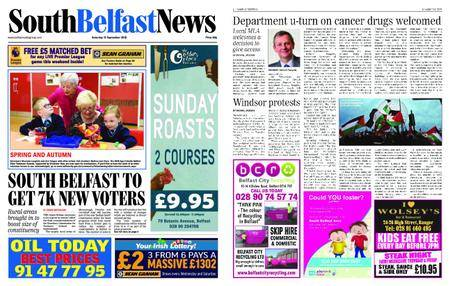 South Belfast News – September 13, 2018