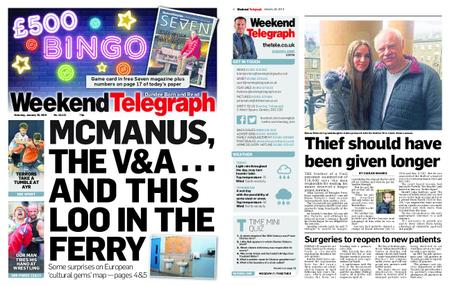 Evening Telegraph First Edition – January 26, 2019