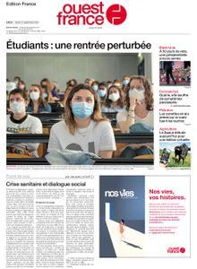 Ouest-France Édition France – 15 septembre 2020
