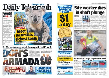 The Daily Telegraph (Sydney) – August 22, 2019