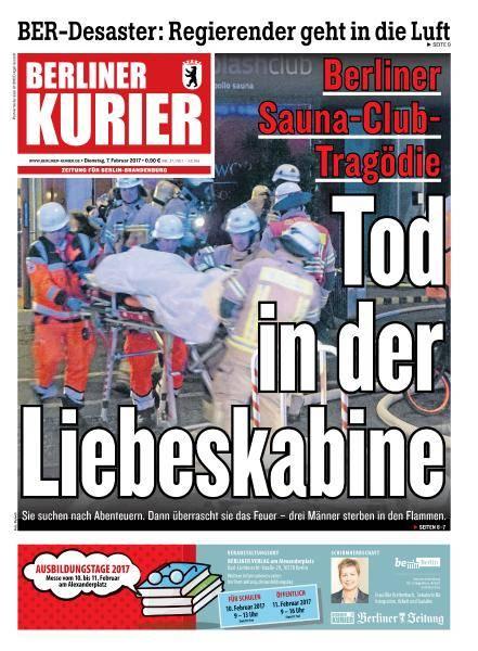 Berliner Kurier - 7 Februar 2017