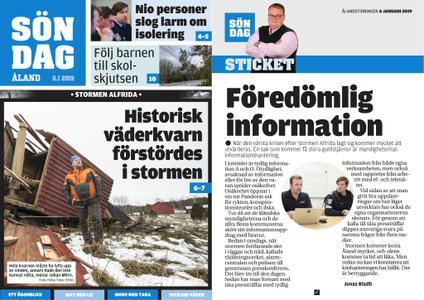 Ålandstidningen – 06 januari 2019