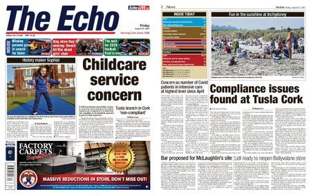 Evening Echo – August 27, 2021