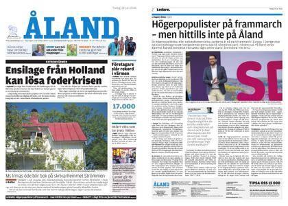 Ålandstidningen – 24 juli 2018