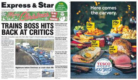 Express and Star City Edition – December 24, 2019