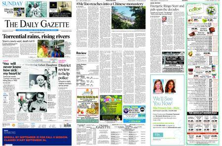 The Daily Gazette – September 16, 2018