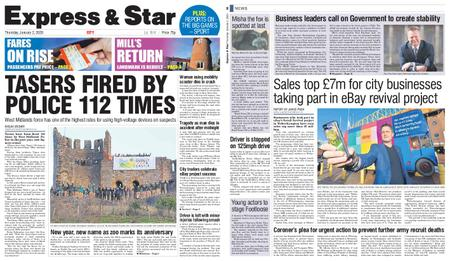 Express and Star City Edition – January 02, 2020