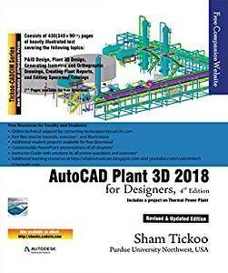 AutoCAD Plant 3D 2018 for Designers