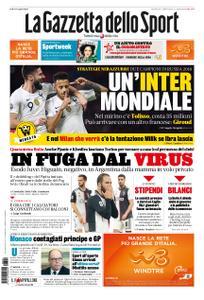 La Gazzetta dello Sport Roma – 20 marzo 2020