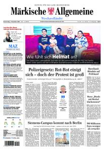 Märkische Allgemeine Westhavelländer - 01. November 2018