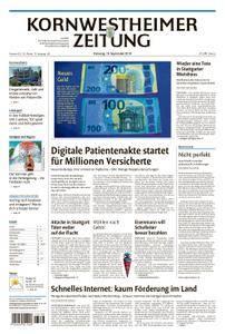 Kornwestheimer Zeitung - 18. September 2018