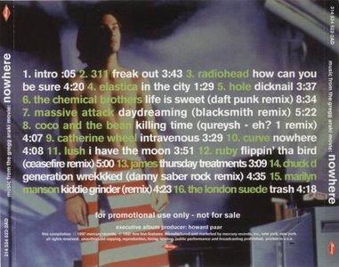 VA - Nowhere (Music From The Gregg Araki Movie) (Promotional Copy)(1997)