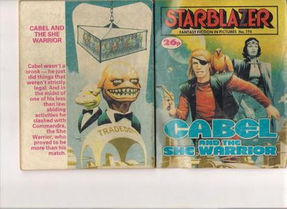Starblazer 194 - Cabel and the She Warrior (1987