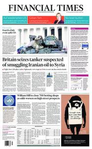 Financial Times UK – July 05, 2019