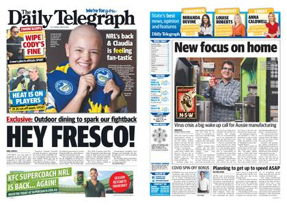 The Daily Telegraph (Sydney) – May 26, 2020