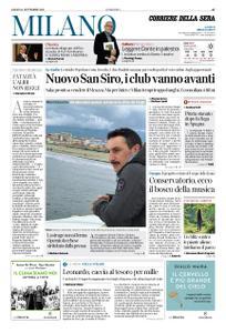 Corriere della Sera Milano – 14 settembre 2019