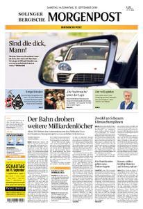 Solinger Morgenpost – 14. September 2019