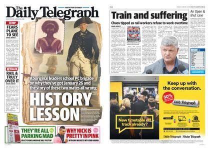 The Daily Telegraph (Sydney) – January 16, 2018