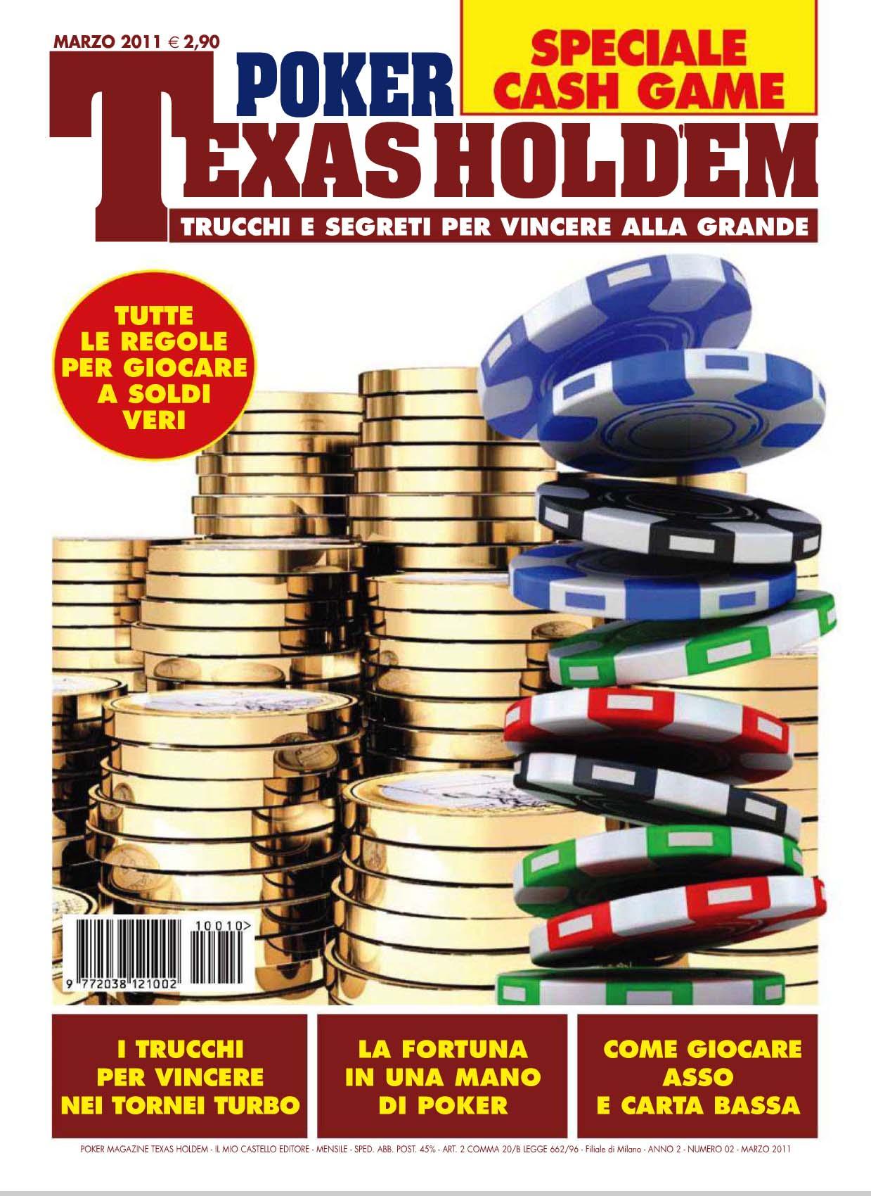 Poker Texas Holdem Nr.02 Marzo 2011