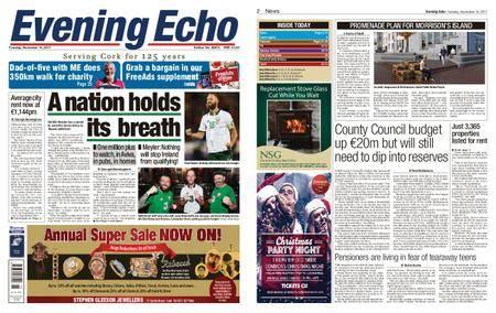 Evening Echo – November 14, 2017