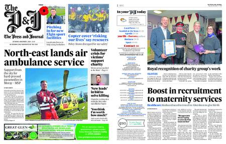 The Press and Journal Moray – November 03, 2018