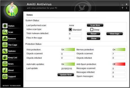 NETGATE Amiti Antivirus 25.0.200.0 Multilingual